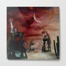 Mystical fantasy landscape Metal Print