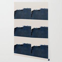 Abstract, blue, beige, indigo Wallpaper