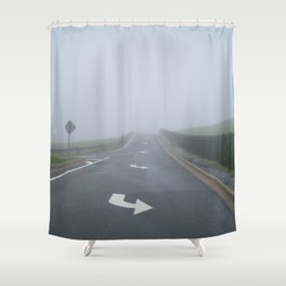 Fogged In/Wrong Way Shower Curtain