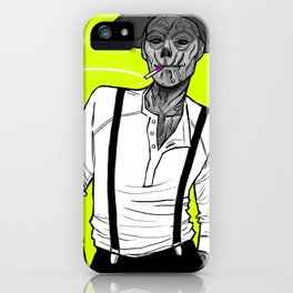 Neon Ghoul iPhone Case