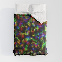 Multicolour Abstract Foil Pattern Comforters