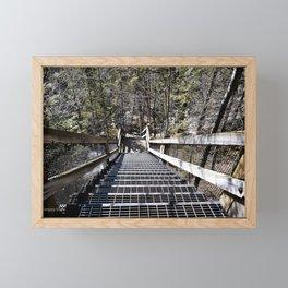 Tahquamenon Stairs Framed Mini Art Print
