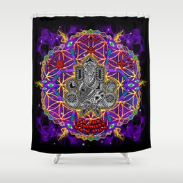 Ganeshaya Shower Curtain