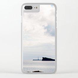 Sao Miguel: Oceano Atlântico Clear iPhone Case