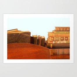 Alte Bücher Art Print