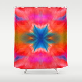 RedeXplosions Shower Curtain