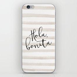 Hola Bonita iPhone Skin