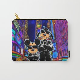 Mickey Mouse and Goofy Carry-All Pouch