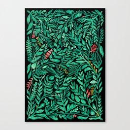 Dark Hedgerow Canvas Print