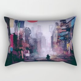 Strange Mornings Rectangular Pillow