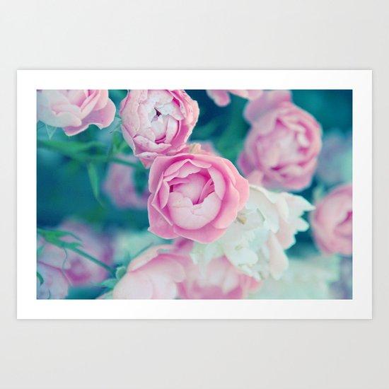 Miss Rose Art Print