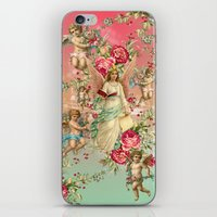 romantic iPhone & iPod Skins featuring romantic by mark ashkenazi