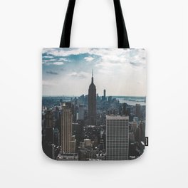 NEW YORK - CITY MANHATTAN - EMPIRE STATE BUILDING - PHOTOGRAPHY Tote Bag