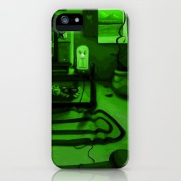Link's gaming room - Only true gamers know iPhone Case
