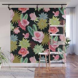 California Rose Garden Wall Mural