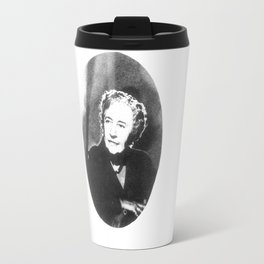Agatha Christie Travel Mug