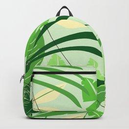 Brazil rainforest vintage travel poster Backpack