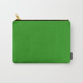 Slimy Green - solid color Carry-All Pouch