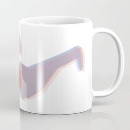 Retro 3D Glasses - Blue and Red Coffee Mug