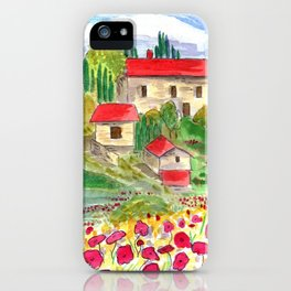 Tuscan iPhone Case