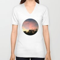 serenity V-neck T-shirts featuring Serenity by Lanese Love