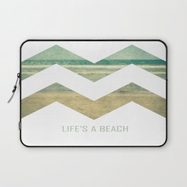 Life's A Beach Laptop Sleeve