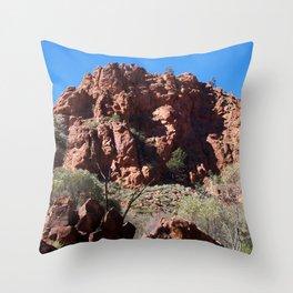 Unspoilt territory   AUSTRALIA Throw Pillow