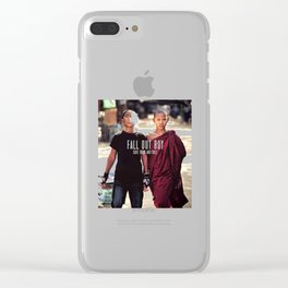 Fall Out Boys Clear iPhone Case