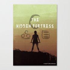 The Hidden Fortress Canvas Print
