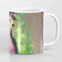 barachan Mugs featuring kenkyo by barachan
