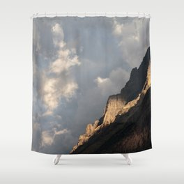 Glacier National Park Sunrise Shower Curtain