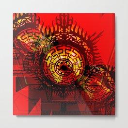 Art Traveling Metal Print