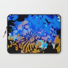 Ammonite Abstract Mustard Laptop Sleeve