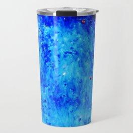 Royal Blue Ceramic Glaze Travel Mug