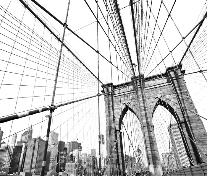 Brooklyn Bridge Metal Travel Mug