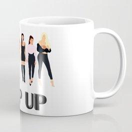 Keep Up Coffee Mug
