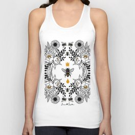 Queen Bee Unisex Tank Top
