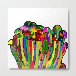 Mound of Mushrooms Metal Print