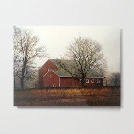 the red barn Metal Print