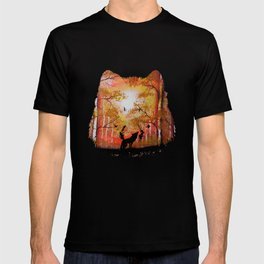 Howling Into The Woods T-shirt