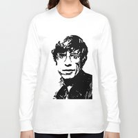 stephen king Long Sleeve T-shirts featuring Stephen Hawking by Silvio Ledbetter