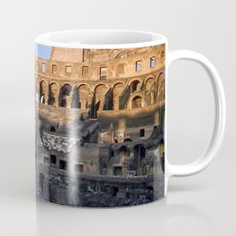 Vintage Color Photo * Roman Colosseum * Coliseum * Rome * Italy *Italian Coffee Mug