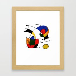 In the Style of Miro Framed Art Print