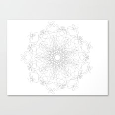 mandala - muse Canvas Print