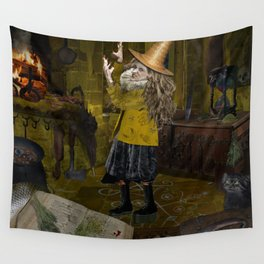Wicked Witch of the West - full body Wall Tapestry