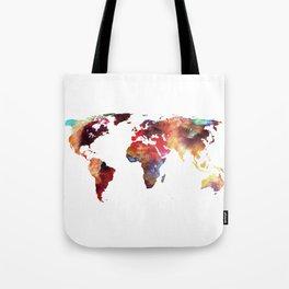 Colorful World Tote Bag