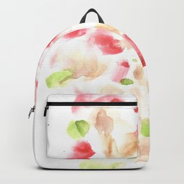 170722 Colour Loving 1|Modern Watercolor Art | Abstract Watercolors Backpack