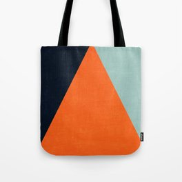 mod triangles - autumn Tote Bag