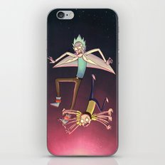Rick and Morty - Pink Gravity iPhone & iPod Skin