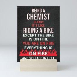 Chemist Gift Idea Mini Art Print
